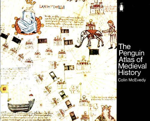 Penguin Atlas of Medieval History   1961 9780140511529 Front Cover