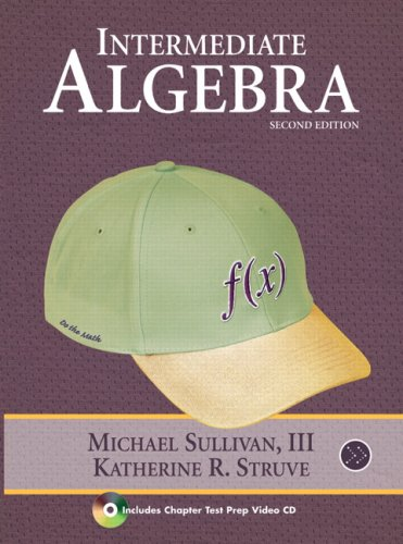 Intermediate Algebra  2nd 2010 edition cover