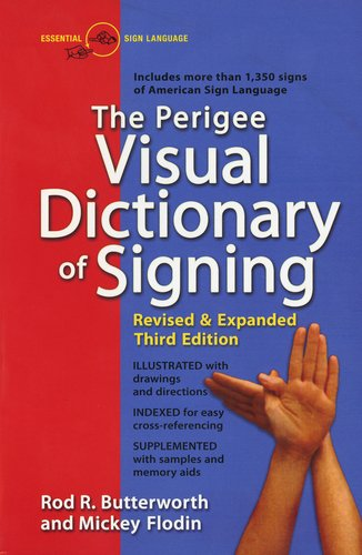 Perigee Visual Dictionary of Signing  3rd 1995 (Revised) edition cover