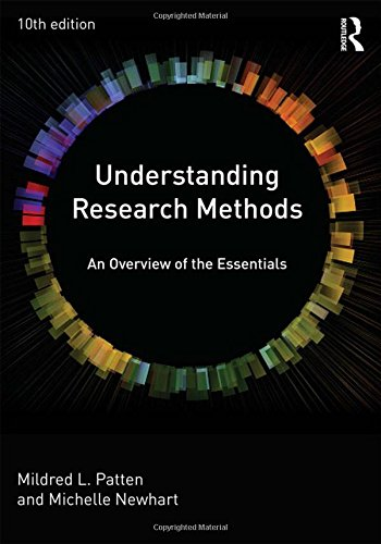 Understanding Research Methods An Overview of the Essentials 10th 2017 9780415790529 Front Cover