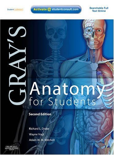 Gray's Anatomy for Students With STUDENT CONSULT Online Access 2nd 2009 edition cover