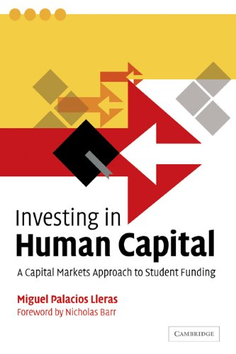Investing in Human Capital A Capital Markets Approach to Student Funding N/A 9780521039529 Front Cover