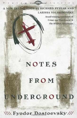 Notes from Underground   1993 9780679734529 Front Cover