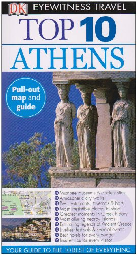 Eyewitness Top 10 Travel Guide - Athens  N/A edition cover