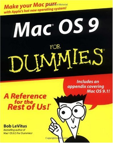 Mac OS 9 for Dummies   1999 9780764506529 Front Cover