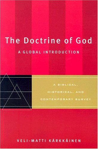 Doctrine of God A Global Introduction  2004 edition cover