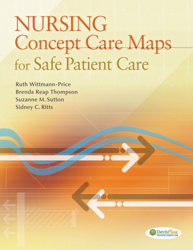 Nursing Concept Care Maps for Safe Patient Care   2013 9780803630529 Front Cover