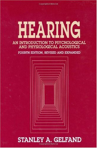 Hearing  4th 2004 edition cover