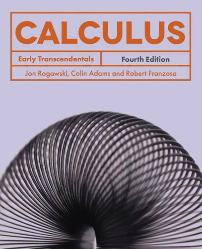 Cover art for Calculus: Early Transcendentals, 4th Edition