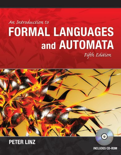 Introduction to Formal Languages and Automata  5th 2012 edition cover