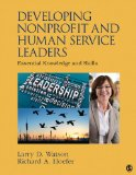 Developing Nonprofit and Human Service Leaders Essential Knowledge and Skills  2014 edition cover