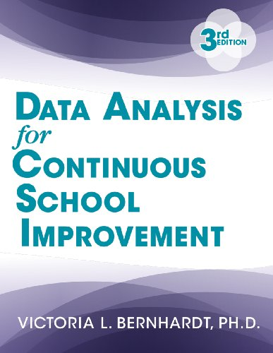 Data Analysis for Continuous School Improvement:   2013 edition cover