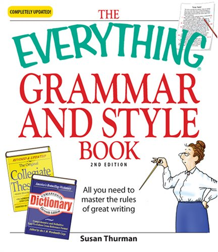 Grammar and Style Book All You Need to Master the Rules of Great Writing 2nd 2008 edition cover