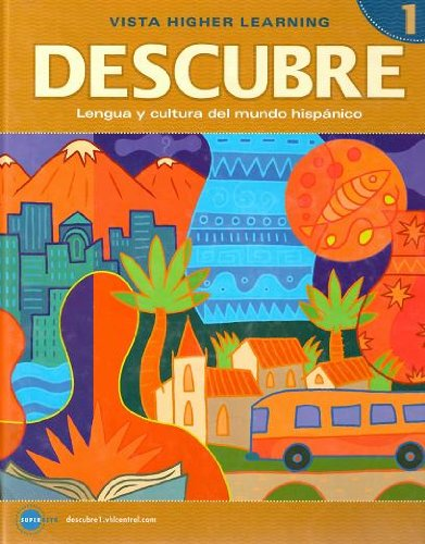 Descubre   2008 (Student Manual, Study Guide, etc.) edition cover