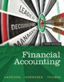 Financial Accounting  10th 2015 9780133427530 Front Cover