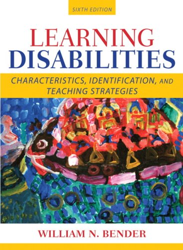 Learning Disabilities Characteristics, Identification, and Teaching Strategies 6th 2008 edition cover