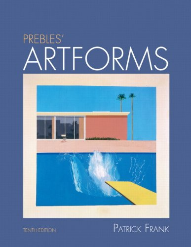 Prebles' Artforms  10th 2011 9780205797530 Front Cover