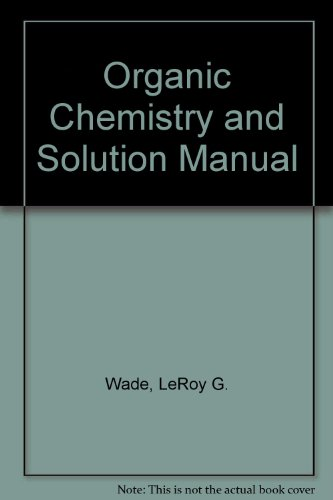 Organic Chemistry + Solution Manual:   2012 edition cover