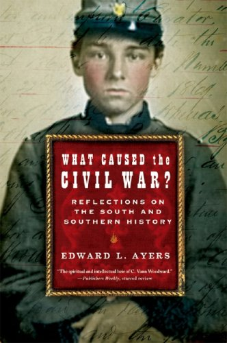 What Caused the Civil War? Reflections on the South and Southern History  2006 edition cover