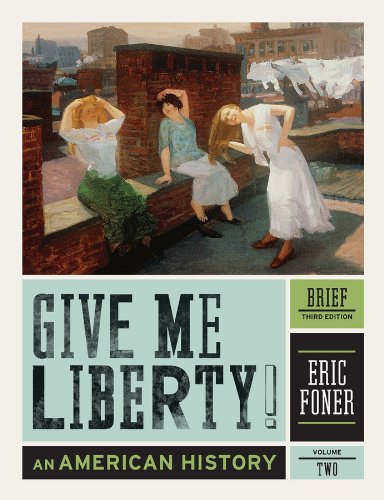 Give Me Liberty! An American History 3rd edition cover