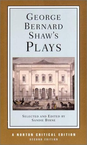 George Bernard Shaw's Plays  2nd 2002 edition cover