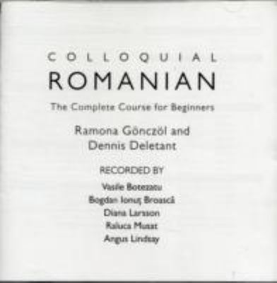 Colloquial Romanian: A Complete Language Course  2010 edition cover