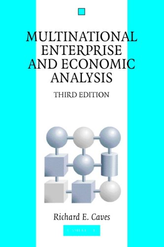 Multinational Enterprise and Economic Analysis  3rd 2007 (Revised) edition cover