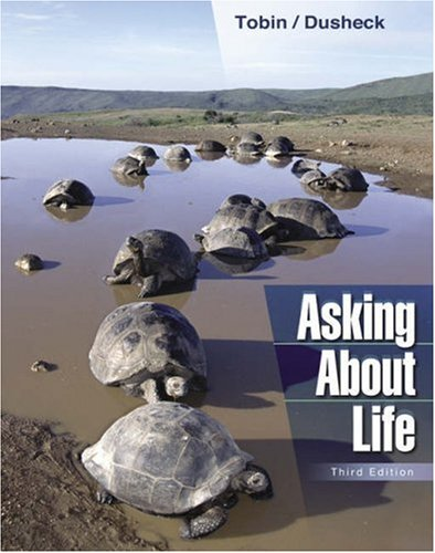 Asking about Life  3rd 2005 9780534406530 Front Cover