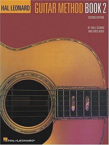 Hal Leonard Guitar Method  2nd edition cover