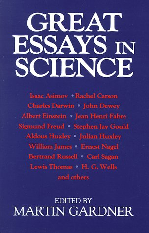 Great Essays in Science  2nd (Reprint) 9780879758530 Front Cover