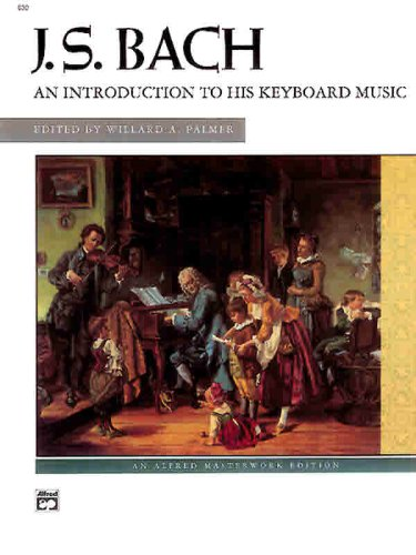 Bach -- an Introduction to His Keyboard Music   1973 edition cover