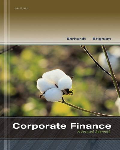 Corporate Finance + Thomson One Business School Edition 6-Month Printed Access Card: A Focused Approach  2013 edition cover
