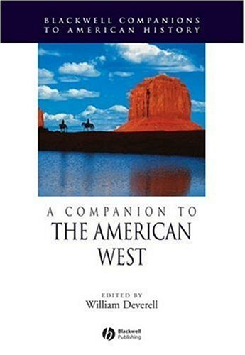 Companion to the American West   2007 9781405156530 Front Cover