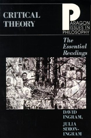 Critical Theory The Essential Readings  1998 edition cover
