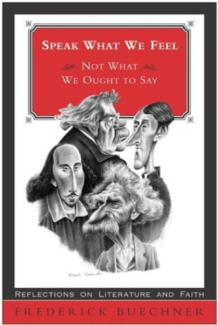 Speak What We Feel Not What We Ought to Say  2001 edition cover