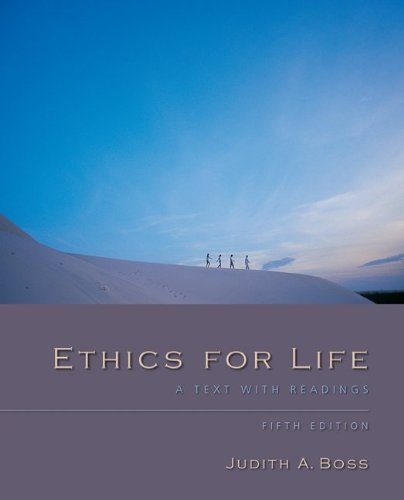 Ethics for Life  5th 2011 edition cover