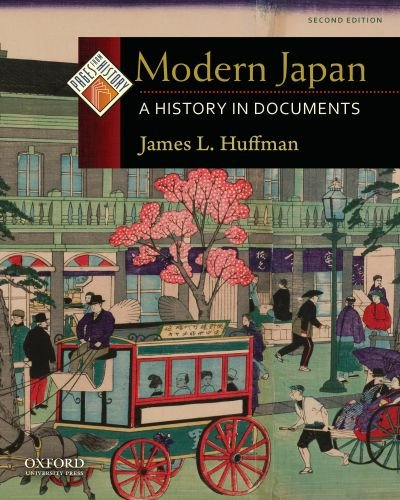 Modern Japan A History in Documents 2nd 2010 edition cover