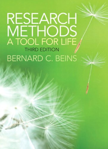 Research Methods A Tool for Life 3rd 2013 edition cover
