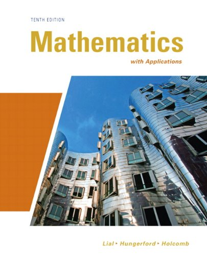 Mathematics with Applications  10th 2011 edition cover