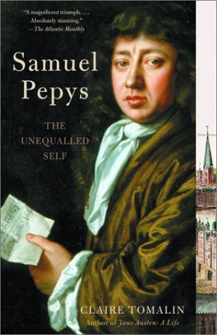 Samuel Pepys The Unequalled Self N/A edition cover