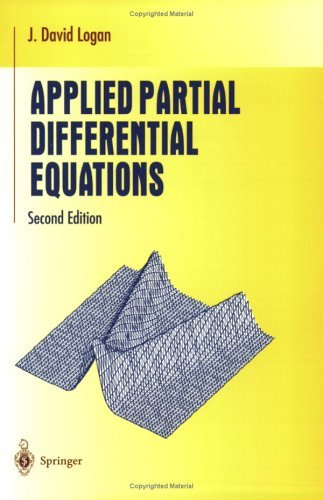 Applied Partial Differential Equations  2nd 2004 (Revised) edition cover