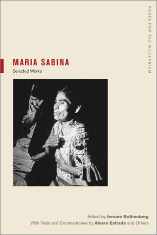 Mar�a Sabina Selected Works  2003 edition cover