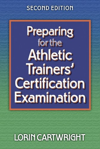 Preparing for the Athletic Trainers' Certification Examination  2nd 2002 (Revised) edition cover