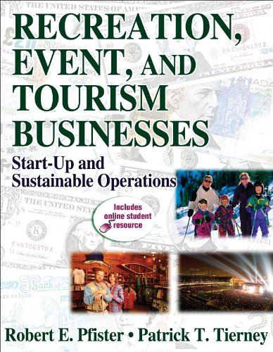 Recreation, Event, and Tourism Businesses Start-Up and Sustainable Operations  2008 edition cover