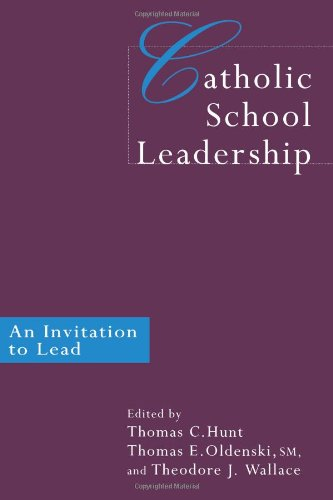 Catholic School Leadership An Invitation to Lead  1999 9780750708531 Front Cover