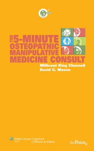 5-Minute Osteopathic Manipulative Medicine Consult   2009 edition cover