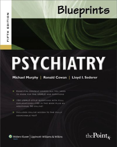 Blueprints Psychiatry  5th 2009 (Revised) edition cover