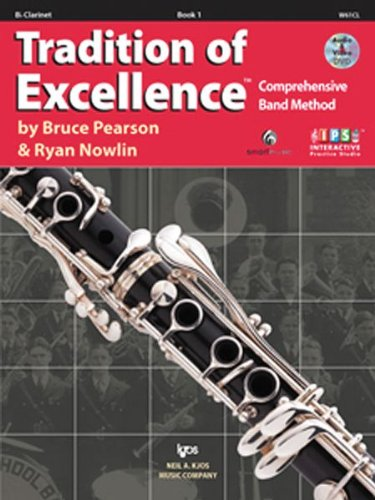 TRAD.OF EXCEL.,BK.1:BB CLARINE N/A edition cover