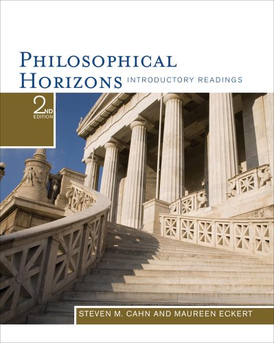 Philosophical Horizons Introductory Readings 2nd 2012 9781111186531 Front Cover