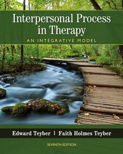 Interpersonal Process in Therapy: An Integrative Model  2016 9781305271531 Front Cover
